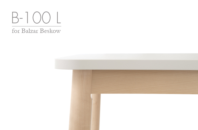 B-100 L table for Balzar Beskow